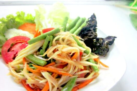 Isan Papaya salad