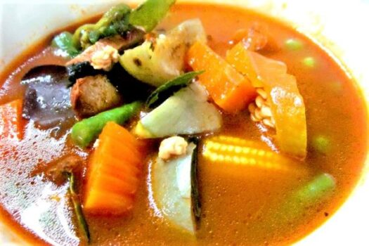 Mixed vegetables curry